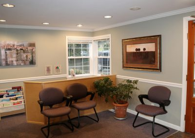 front desk health and wellness clinic