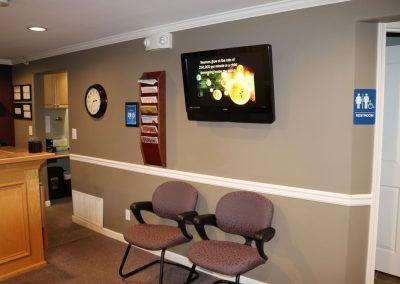 lobby health and wellness clinic