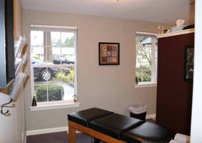 treatment room health and wellness clinic